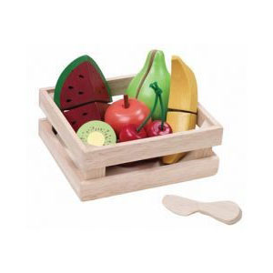 Wooden Toys Fruit Basket