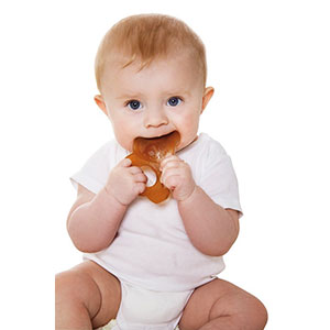 Hevea Panda Natural Rubber Teething Toy