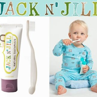 JACK N JILL biodegradable toothbrush baby toothbrush